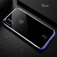 Чехол Baseus iPhone X Armor Blue