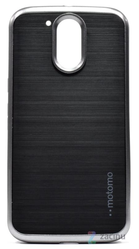Чохол-накладка Motomo для Motorola Moto G4/G4 Plus Slim line ser. Сірий(995415)