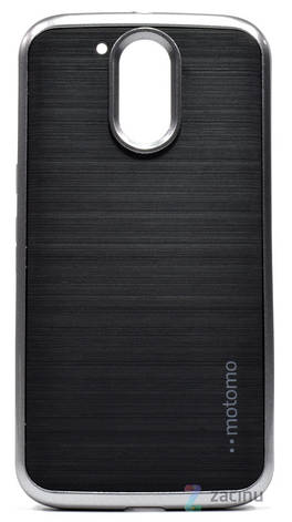 Чохол-накладка Motomo для Motorola Moto G4/G4 Plus Slim line ser. Сірий(995415), фото 2