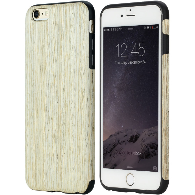 "Чехол накладка ROCK для IPHONE 6 / 6S (4.7 "") Origin ser. (Grained) Nordic Walnut"