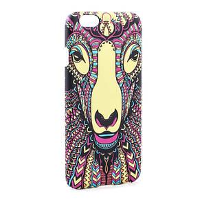 Чехол накладка для IPHONE 6 / 6S Animal Pattern Лама, фото 2