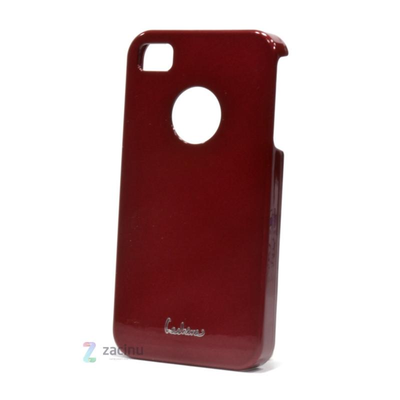 Чехол накладка Dreamplus для IPHONE 4 / 4S High Glossy ser. красный