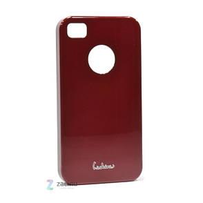 Чехол накладка Dreamplus для IPHONE 4 / 4S High Glossy ser. красный, фото 2