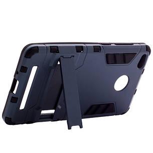 Чохол-накладка Transformer для Xiaomi Redmi 3 Pro/ 3S Ударостійкий підставка Сірий(307955), фото 2