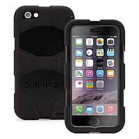 Чехол 360 ° Griffin GB38903 для iPhone 6 / 6S Survivor Case Черный