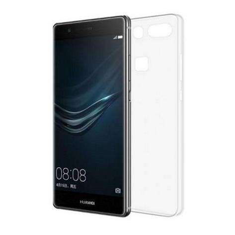 Чохол-накладка TPU для Huawei P9 Plus Ultra-thin ser. Прозорий/безколірний, фото 2