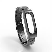 Ремешок Fitness для Xiaomi Mi Band 2 Classic Black, КОД: 178645