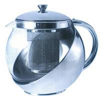 Заварник стеклянный для чая 500 мл. 9551
