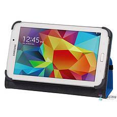 Чохол-книжка Hama для Samsung Galaxy Tab 4 7.0 Weave ser. Синій, фото 2