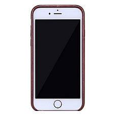 """Чохол-накладка Nillkin для iPhone 6/6S (4.7"""") Englon ser. Коричневий(120846), фото 3"""