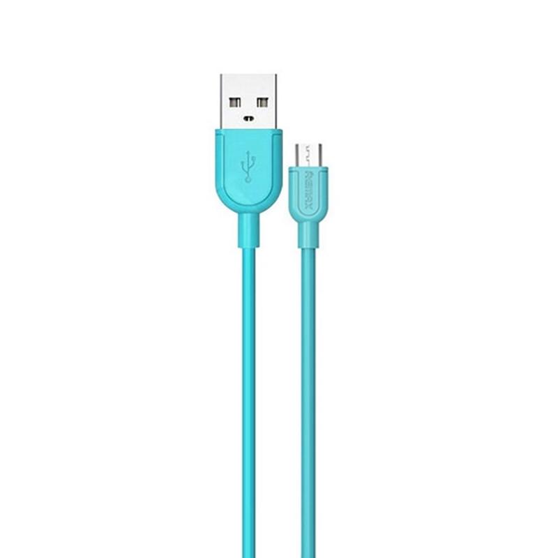 Кабель Remax RC-031m micro USB Souffle Blue