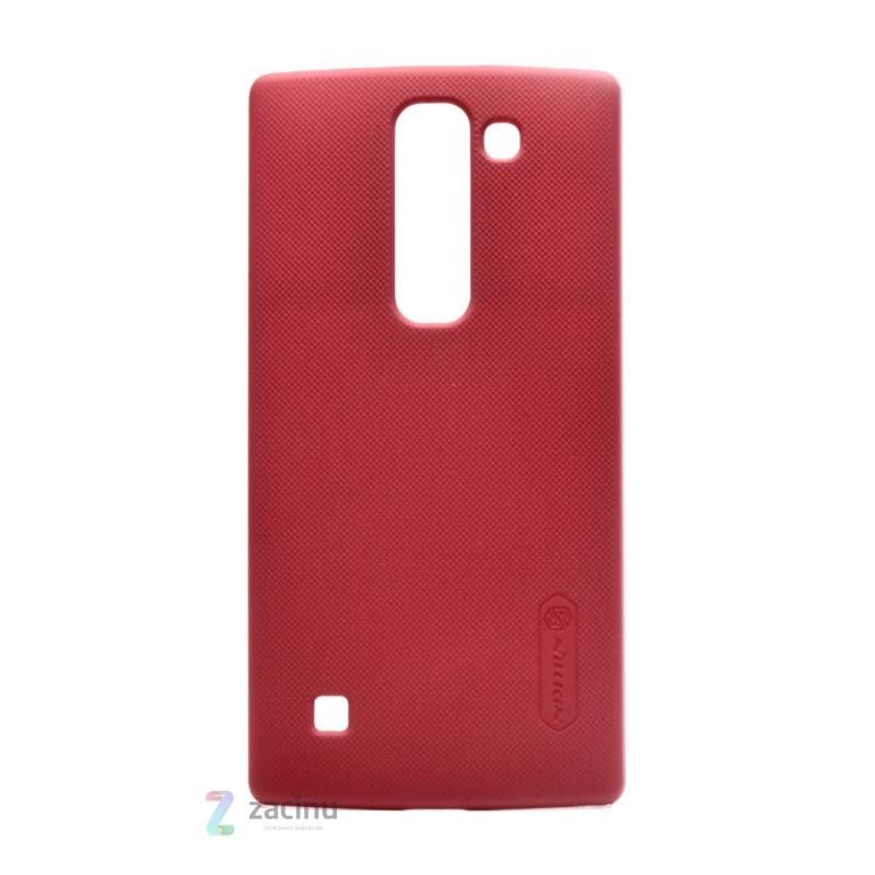 Чохол-накладка Nillkin для LG Spirit H422/ H440 Matte ser. +плівка Червоний(238416)