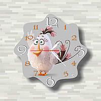 Настенные часы - Злые птички  настінний годинник - Злі птахи   Angry Birds  wall clock 8347339c25b38