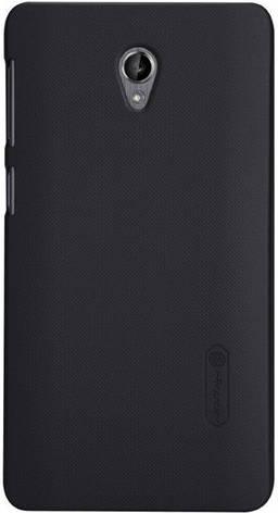Чохол-накладка Nillkin для Lenovo S860 Matte ser. +плівка Чорний, фото 2