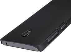 Чохол-накладка Nillkin для Lenovo S860 Matte ser. +плівка Чорний, фото 3