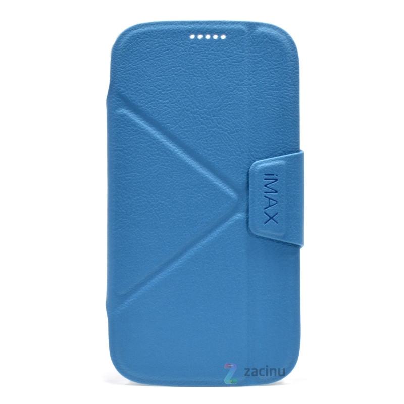 Чохол-книжка iMAX для Samsung J200H J2 Duos Smart Case ser. Блакитний