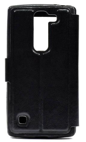 Чохол-книжка для LG Y70/ H422 Spirit Чорний, фото 2