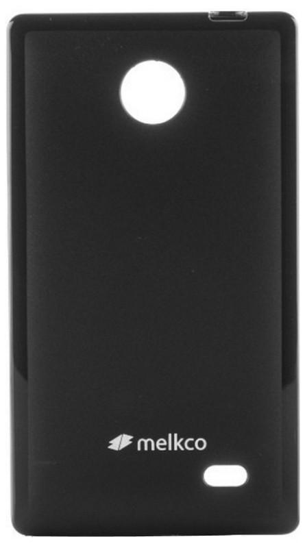 Чехол накладка Melkco для Nokia X Poly Jacket ser. TPU Черный
