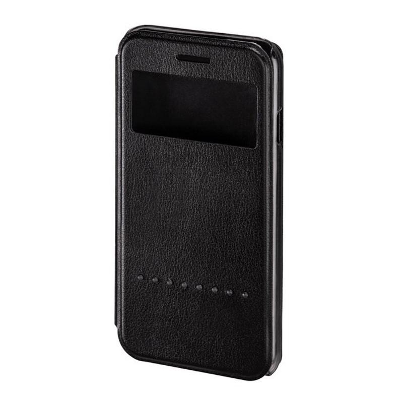 Чехол книга Hama для iPhone 6 / 6S Window ser.черный