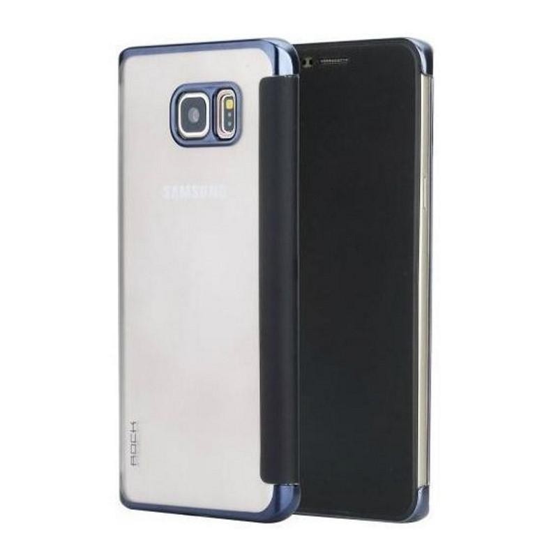 Чохол-книжка Rock для Samsung Galaxy Note 5 DR.V ser. Синій