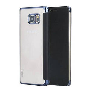 Чохол-книжка Rock для Samsung Galaxy Note 5 DR.V ser. Синій, фото 2