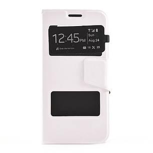 Чохол-книжка TPU для Samsung Galaxy S6 G920F Duos Білий, фото 2