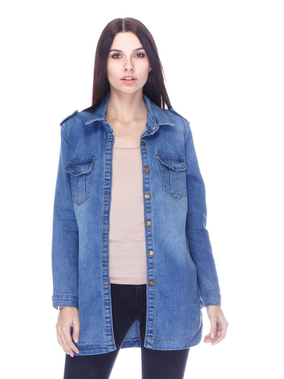 Женская джинсовая куртка СС-7610-00