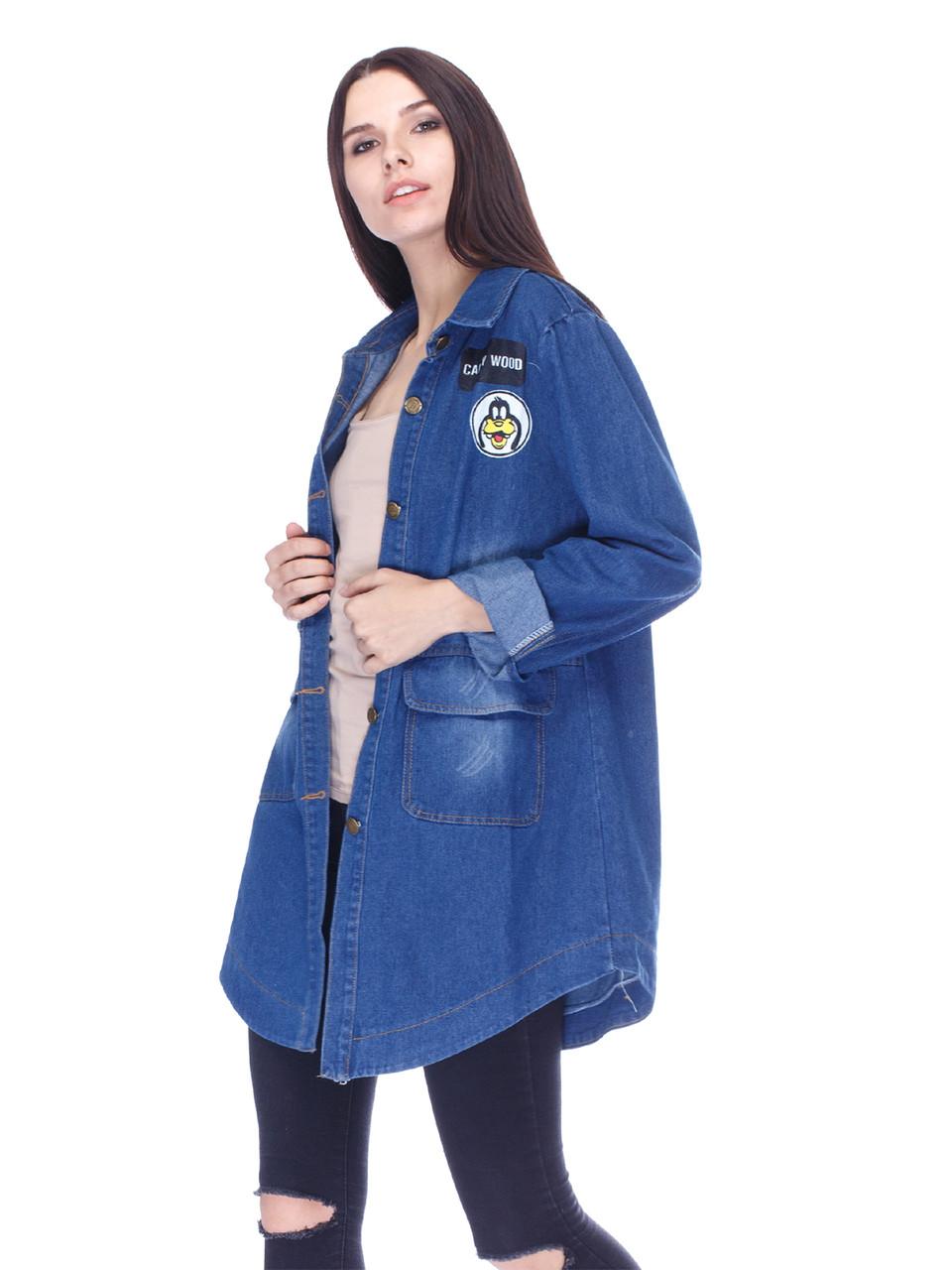 Женская джинсовая куртка СС-7611-00