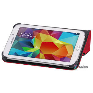 Чохол-книжка Hama для Samsung Galaxy Tab 4 7.0 Weave ser. Червоний(00126756), фото 2