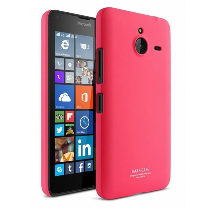 Чехол накладка Imak для Microsoft (Nokia) Lumia 640 XL Cowboy ser. красный
