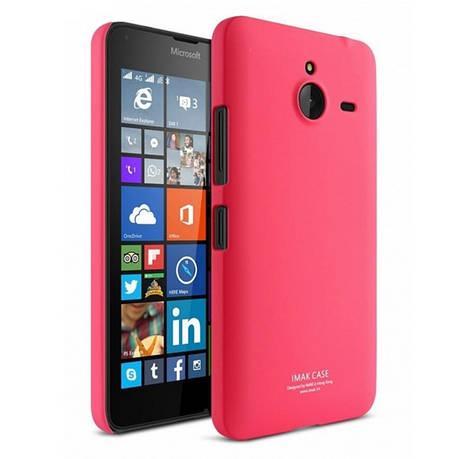 Чехол накладка Imak для Microsoft (Nokia) Lumia 640 XL Cowboy ser. красный, фото 2