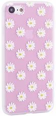 "Чехол накладка для iPhone 7/8 (4.7 "") Soft touch ser. Цветы Ромашки, фото 3"