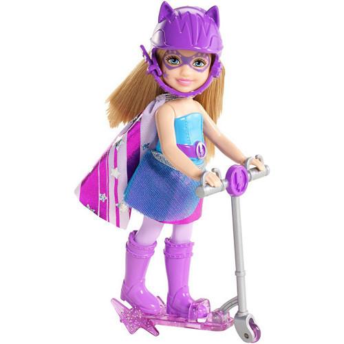 Лялька Челсі з самокатом з м/ф «Barbie Супер принцеса». CDY68