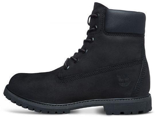 "Мужские ботинки Timberland 6-inch ""Black""  ( в стиле Тимберленд )"