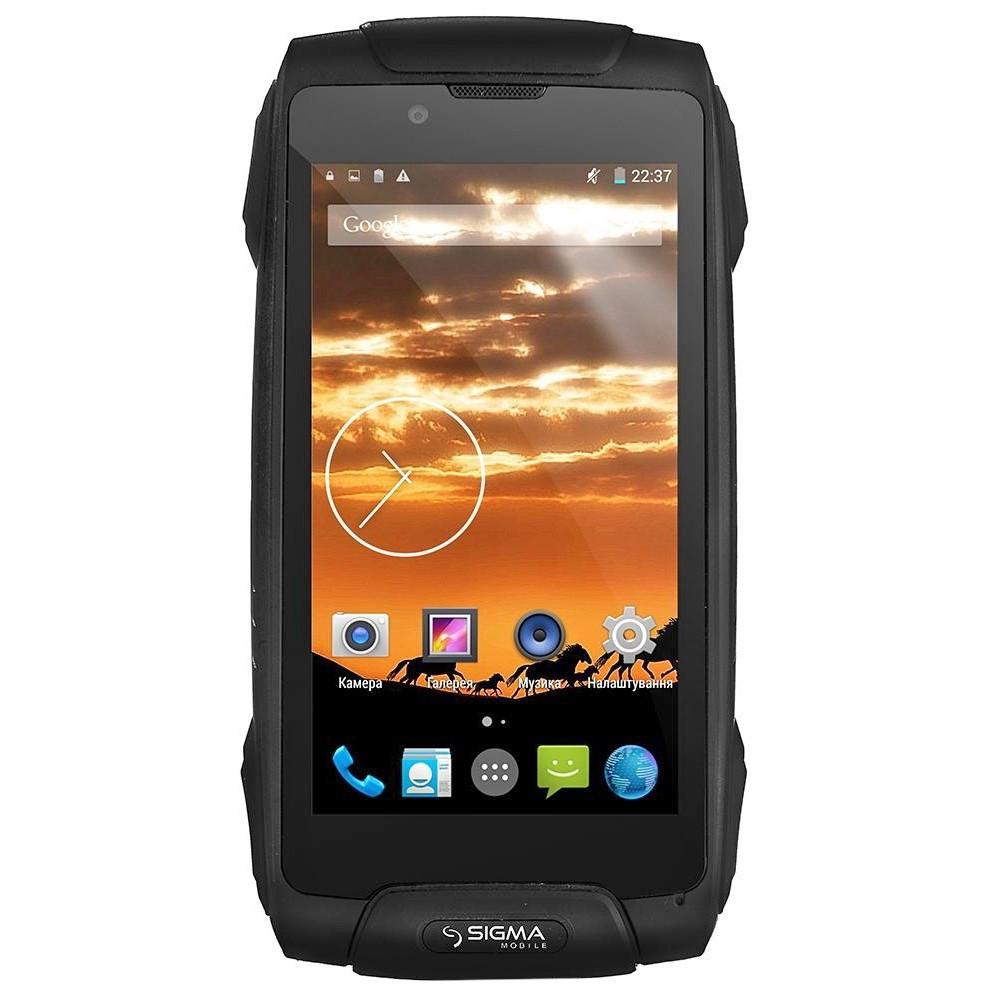 Смартфон  SIGMA X-treme PQ25 Чорний(Black)