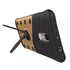 Чехол накладка для Xiaomi Redmi Note 3 / Pro Armored case Ударопрочный Золотистый (317237), фото 2