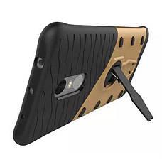 Чехол накладка для Xiaomi Redmi Note 3 / Pro Armored case Ударопрочный Золотистый (317237), фото 3