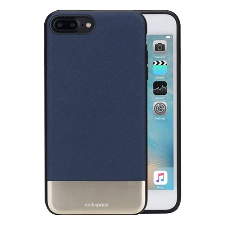 """Чехол накладка ROCK для iPhone 7 Plus (5.5 """") Elite ser. Синий (639395)"""