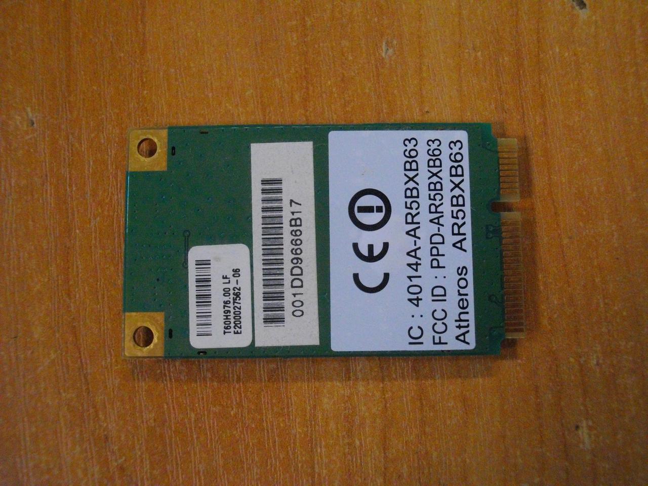 Acer Aspire 5520, 5520G плата wi-fi AR5BXB63