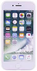 "Чехол накладка для iPhone 7/8 (4.7 "") Soft touch ser. Цветы Разноцветные, фото 2"