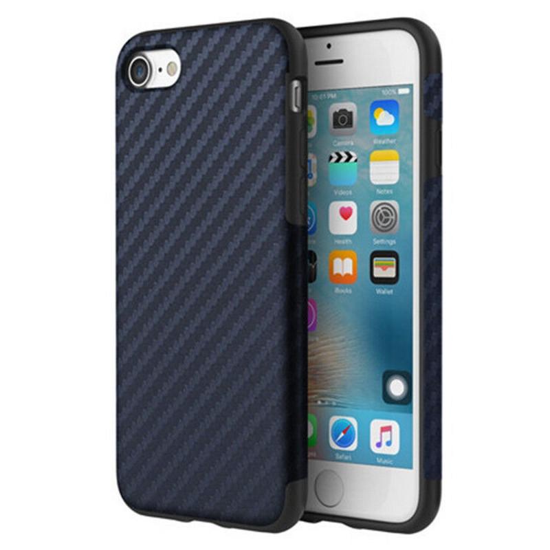 "Чохол-накладка ROCK для iPhone 7 (4.7"") Origin ser.(Texured) Синій(636745)"