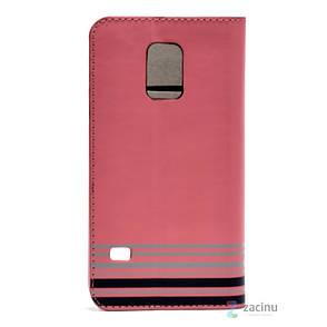 Чехол книжка Hama для Samsung G800H S5 mini Primrose ser. розовый, фото 2