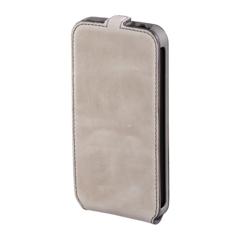 Чехол флип Hama для Samsung G900 S5 Prime Line Smart Case. серый