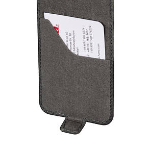 Чехол флип Hama для Samsung G900 S5 Prime Line Smart Case. серый, фото 2