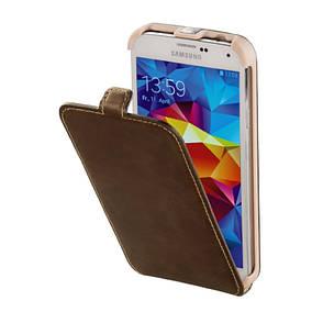 Чехол флип Hama для Samsung G900 S5 Prime Line Smart Case. Коричневый (00123685), фото 2