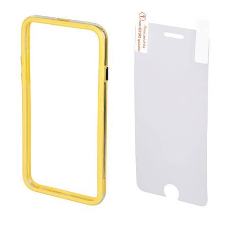 Чехол бампер Hama для iPhone 6 / 6S Edge Protector ser. желтый, фото 2