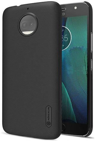 Чохол-накладка Nillkin для Motorola Moto G5 Matte ser. + плівка Чорний, фото 2