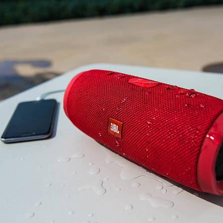 Портативная акустика JBL Charge 3 red, фото 2