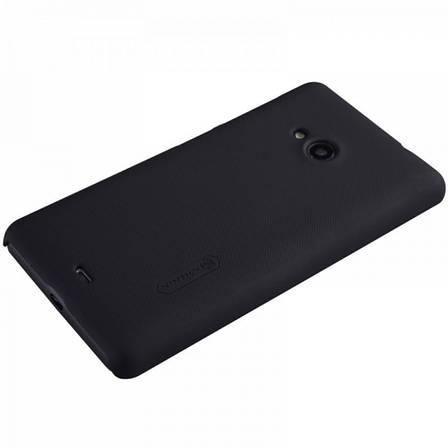 Чохол-накладка Nillkin для Microsoft (Nokia) Lumia 535 / Matte ser./+ плівка/ Чорний, фото 2