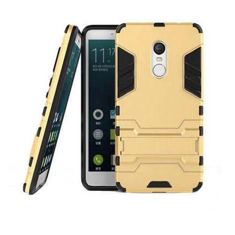 Чохол-накладка Transformer для Xiaomi Redmi Note 4 Ударостійкий підставка Золотистий(324532), фото 2